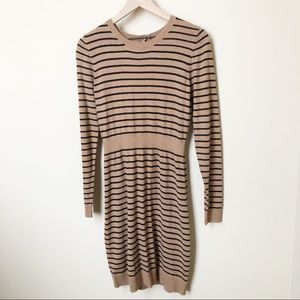 NWT Old Navy Striped Sweater Dress Size Medium